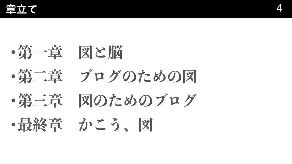 ষཱͯ 4 •ୈҰষɹਤͱ •ୈೋষɹϒϩάͷͨΊͷਤ •ୈষɹਤͷͨΊͷϒϩά •...