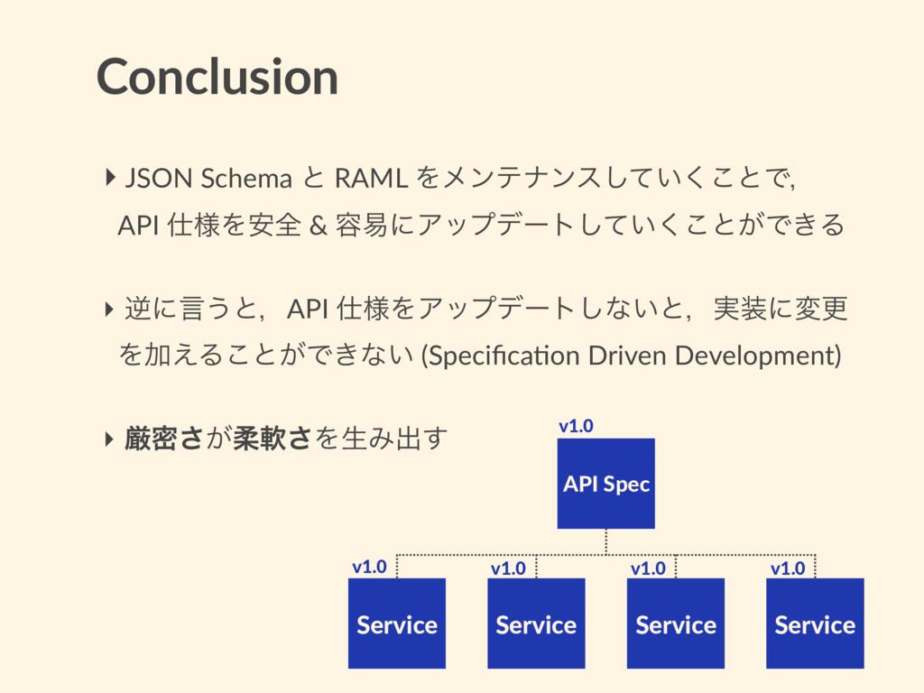 Conclusion Service Service Service Service API ...