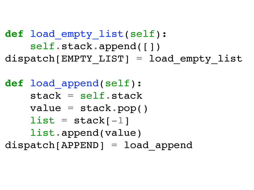 def load_empty_list(self):! self.stack.append([...