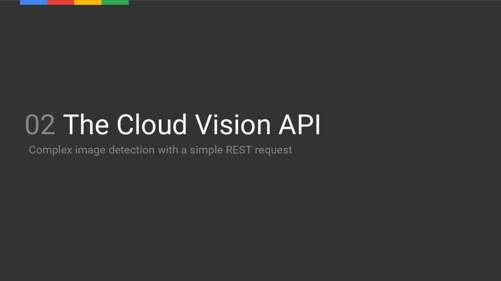 02 The Cloud Vision API Complex image detection...