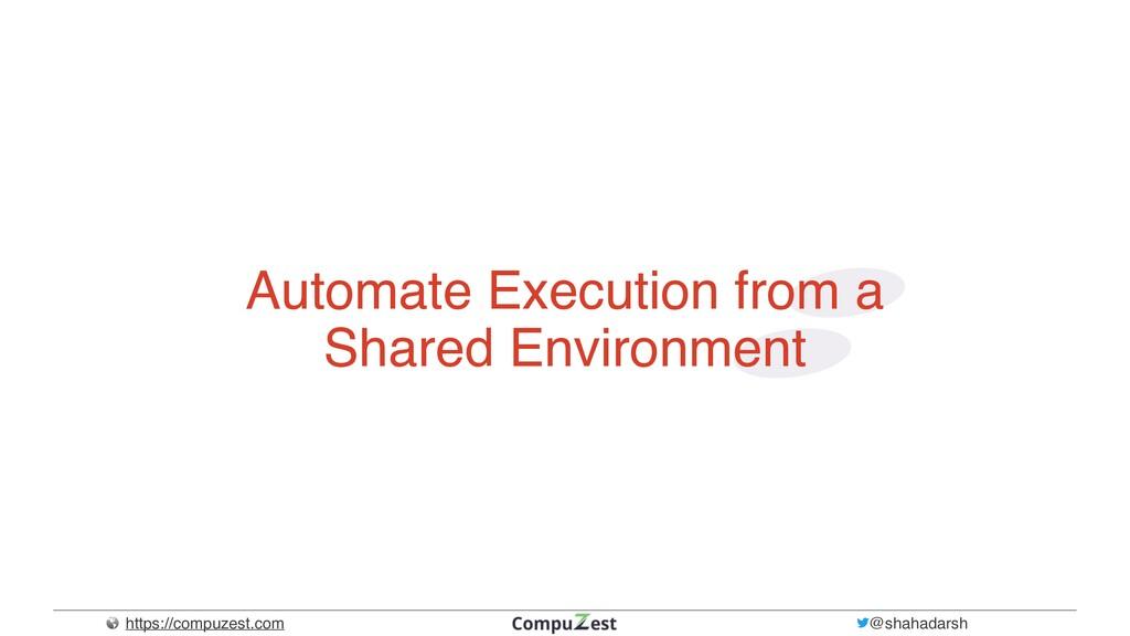 https://compuzest.com @shahadarsh Automate Exec...