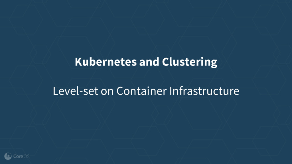 Kubernetes and Clustering Level-set on Containe...