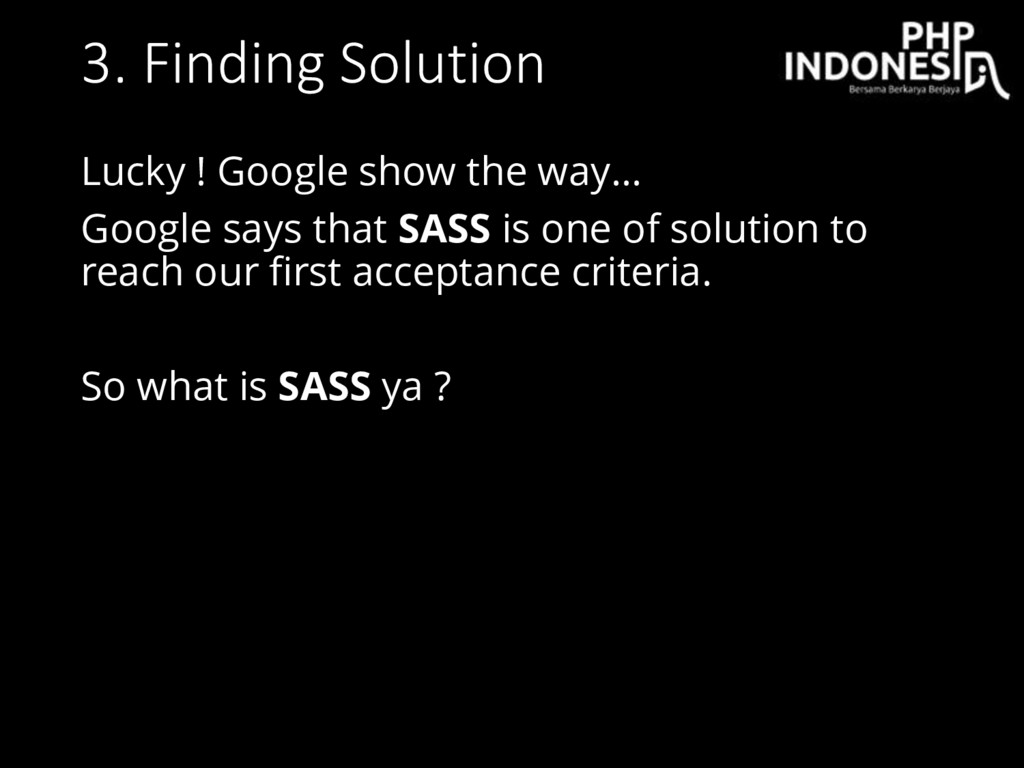 3. Finding Solution Lucky ! Google show the way...