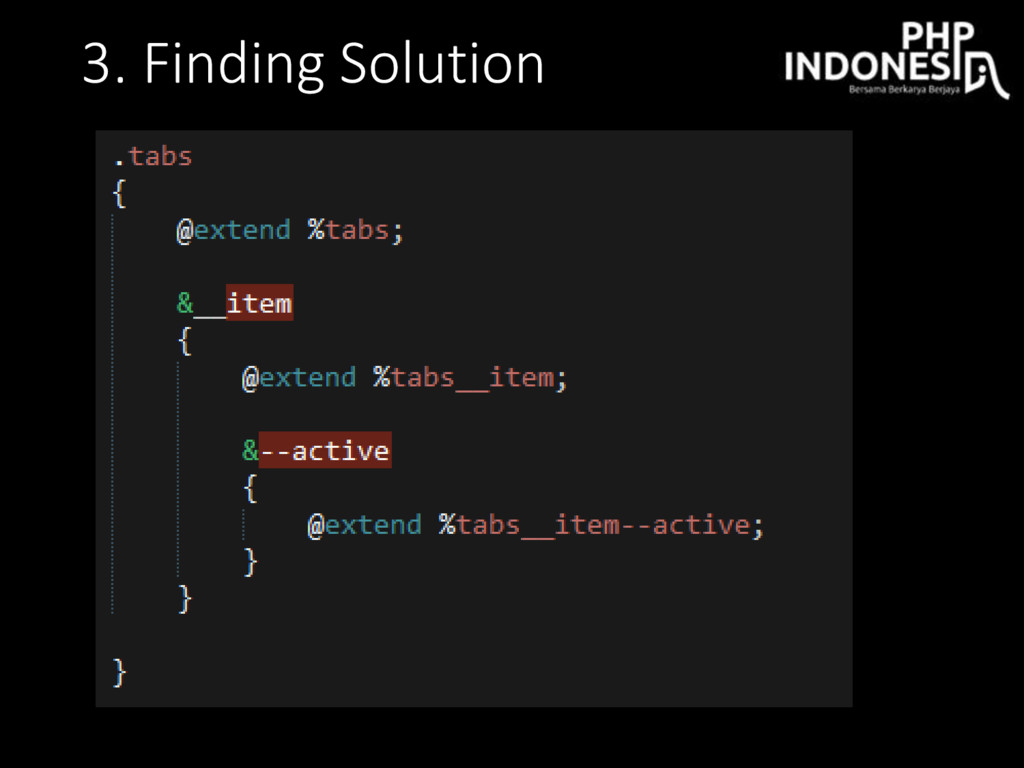 3. Finding Solution