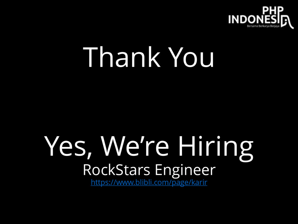 Thank You Yes, We're Hiring RockStars Engineer ...