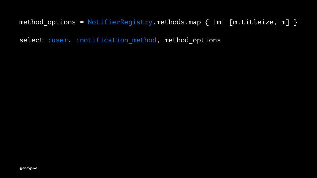 method_options = NotifierRegistry.methods.map {...