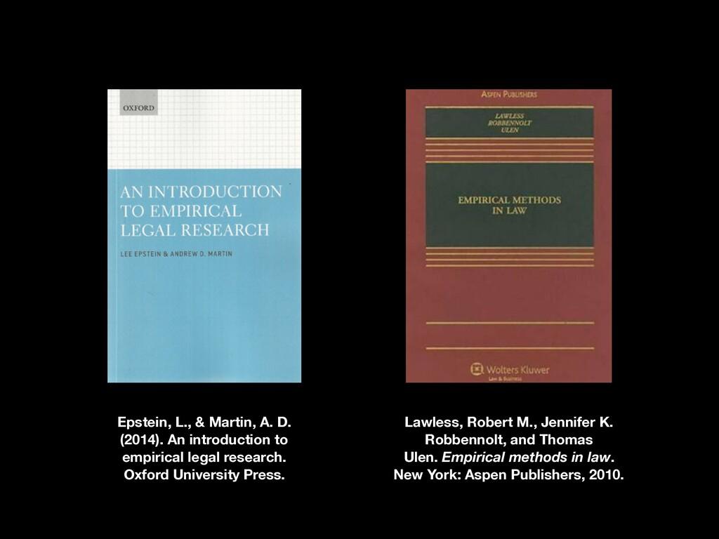 Epstein, L., & Martin, A. D. (2014). An introdu...