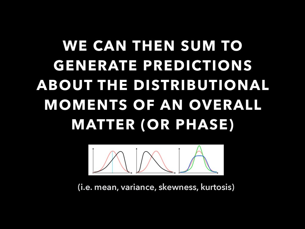 WE CAN THEN SUM TO GENERATE PREDICTIONS ABOUT T...