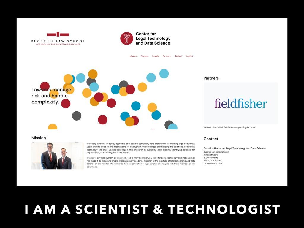 I AM A SCIENTIST & TECHNOLOGIST https://legalte...