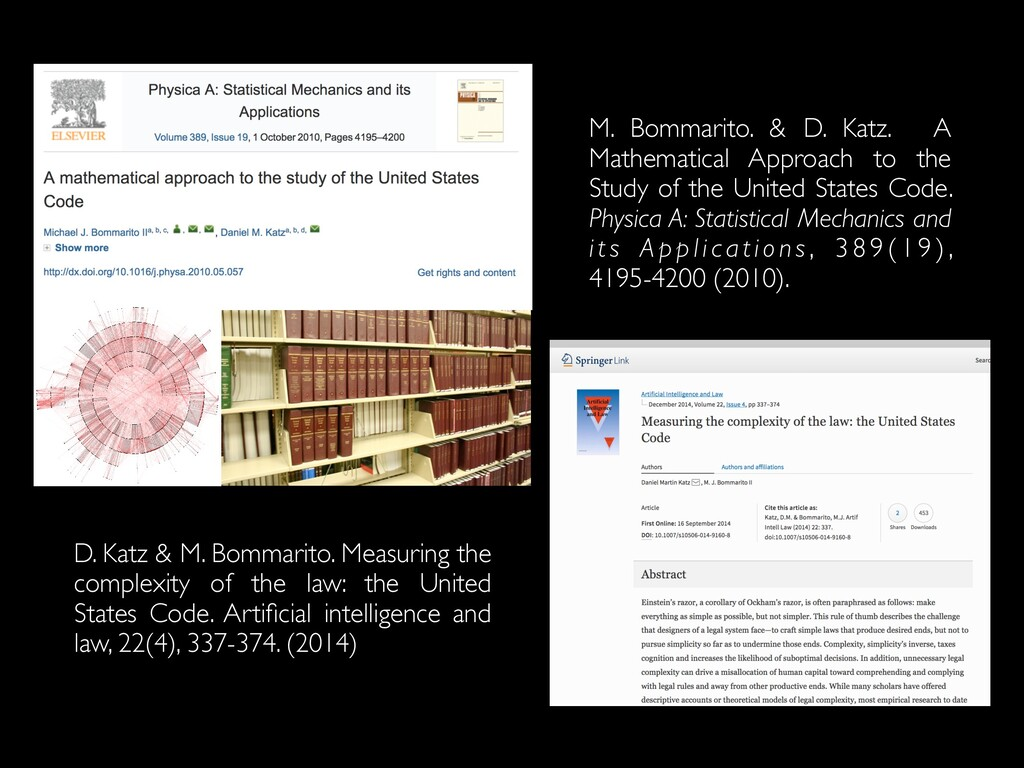 M. Bommarito. & D. Katz. A Mathematical Approac...