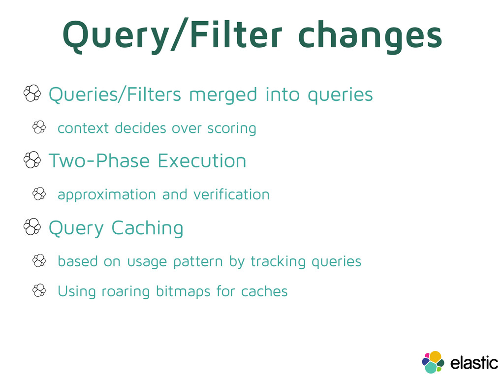 Query/Filter changes Queries/Filters merged int...