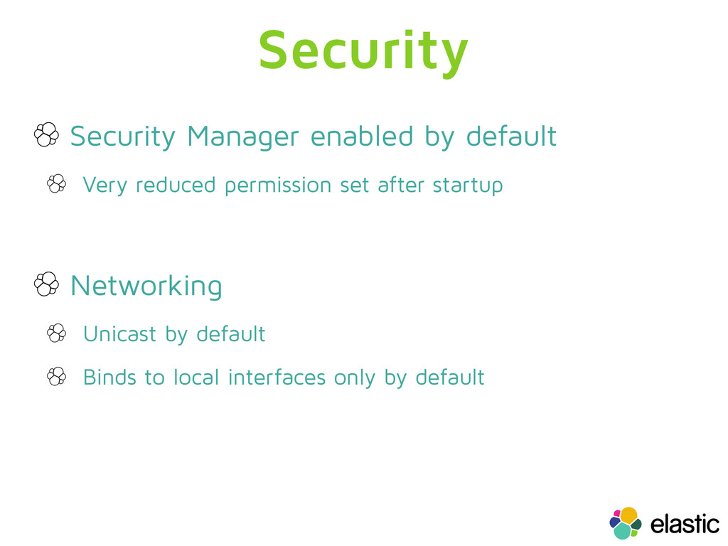 Security Security Manager enabled by default Ve...