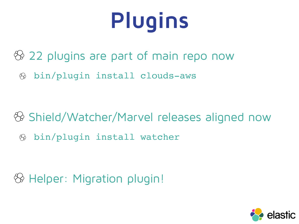 Plugins 22 plugins are part of main repo now bi...