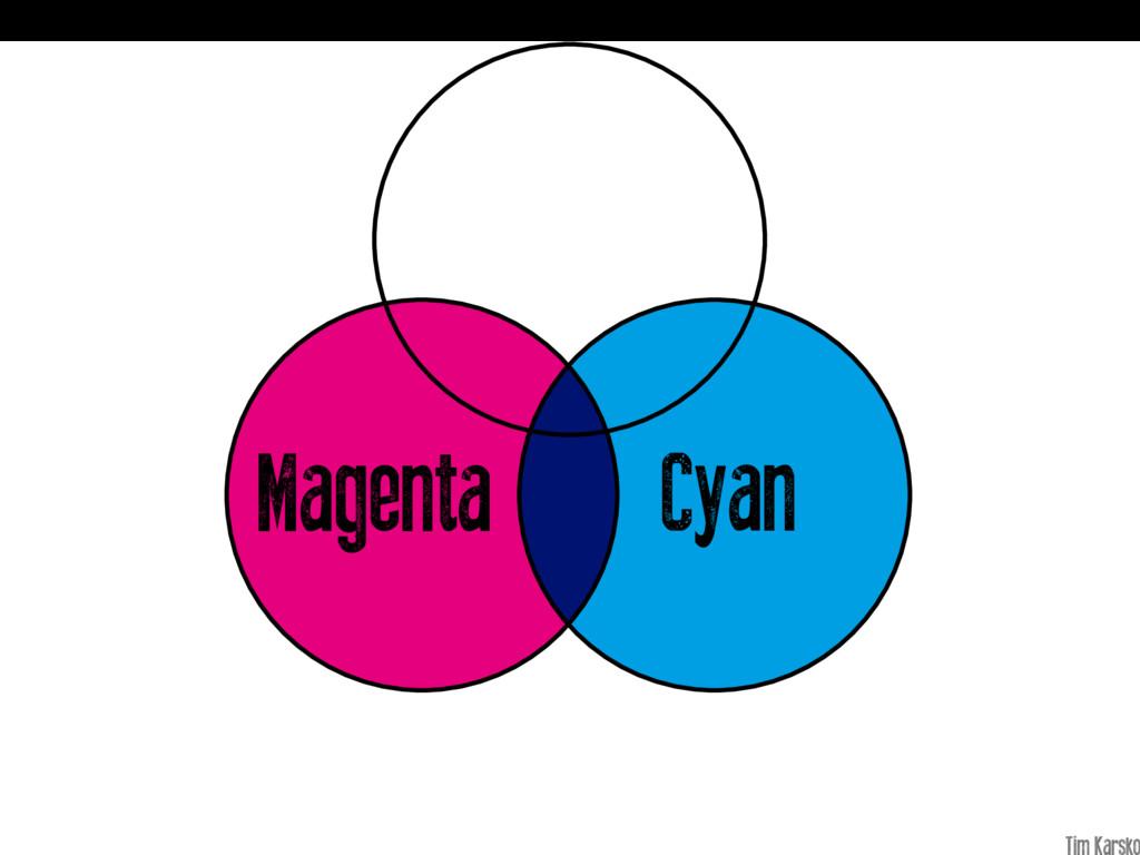 Cyan Magenta