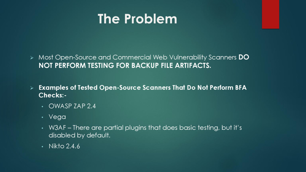  Most Open-Source and Commercial Web Vulnerabi...