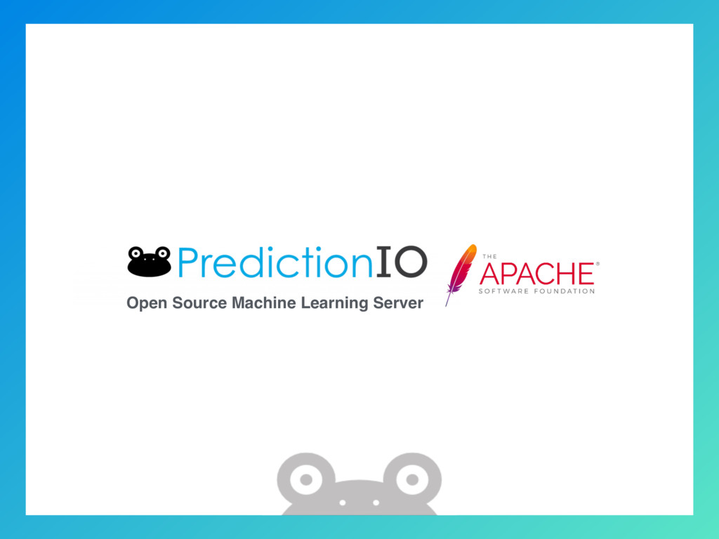 Open Source Machine Learning Server
