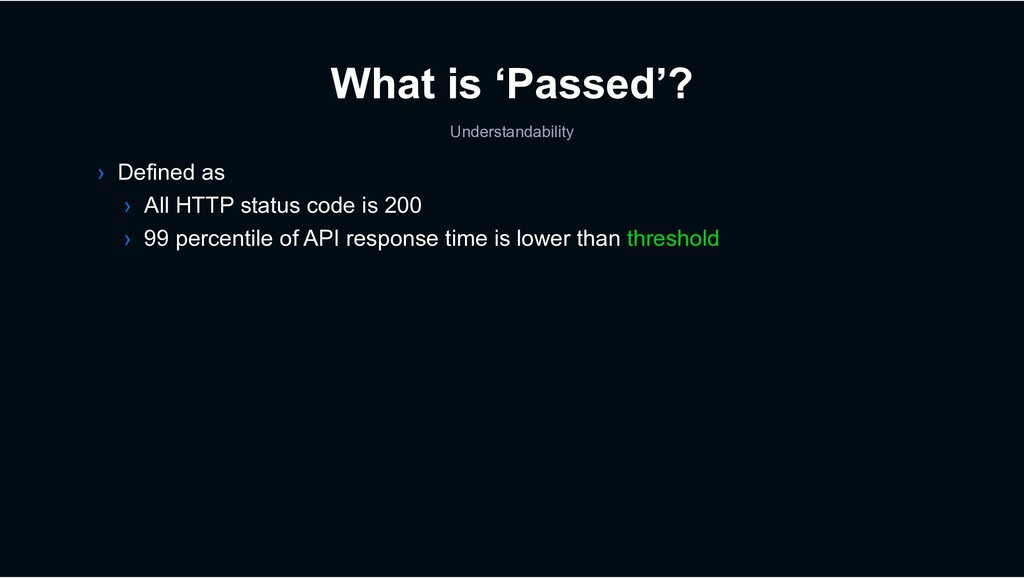 › Defined as › All HTTP status code is 200 › 99...