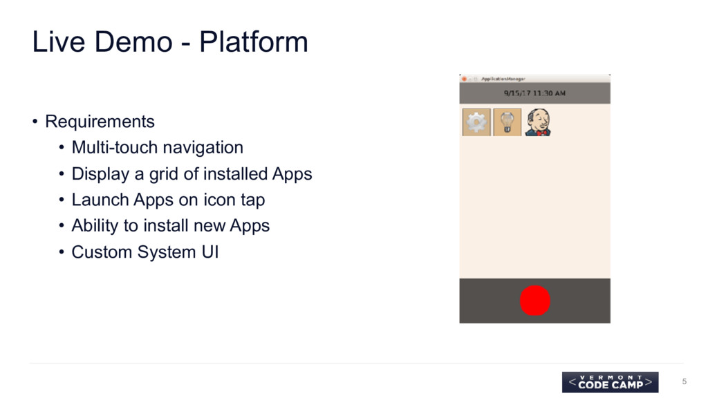 Live Demo - Platform • Requirements • Multi-tou...
