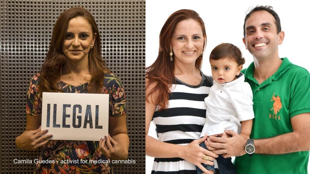 Camila Guedes - activist for medical cannabis