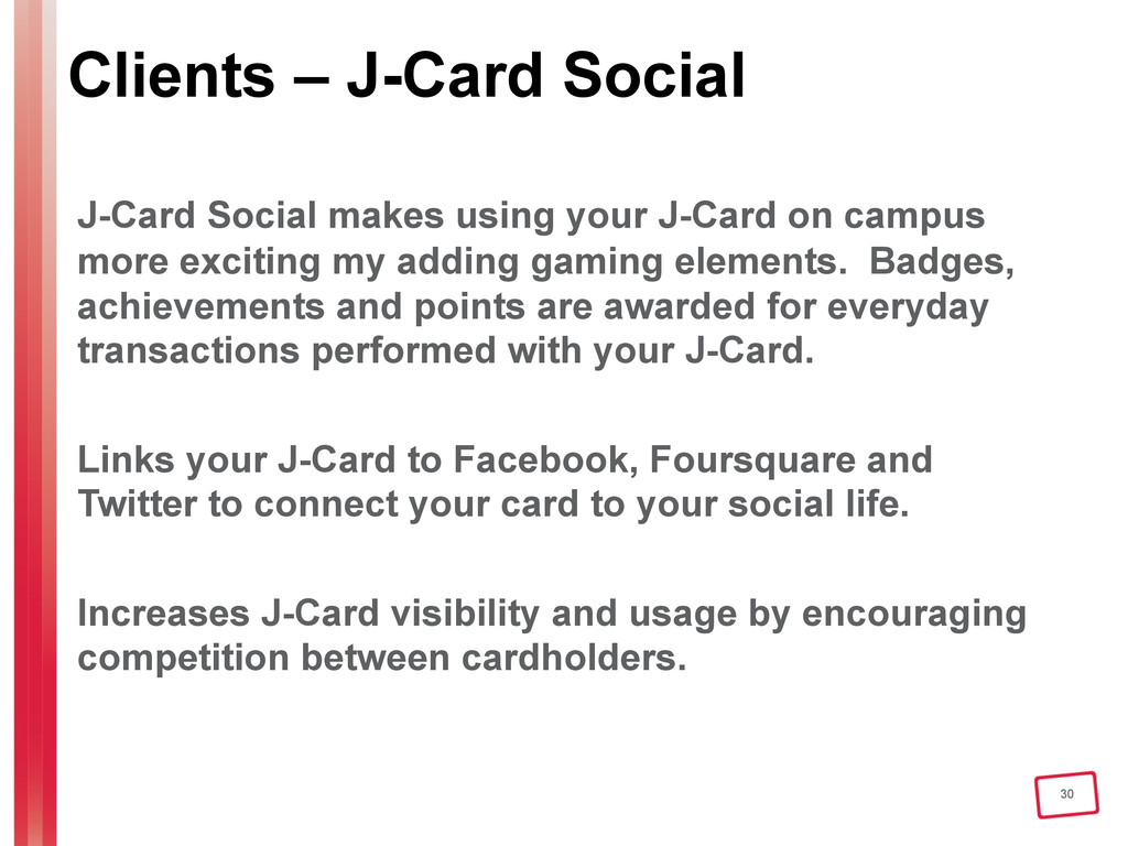 30 Clients – J-Card Social J-Card Social makes ...
