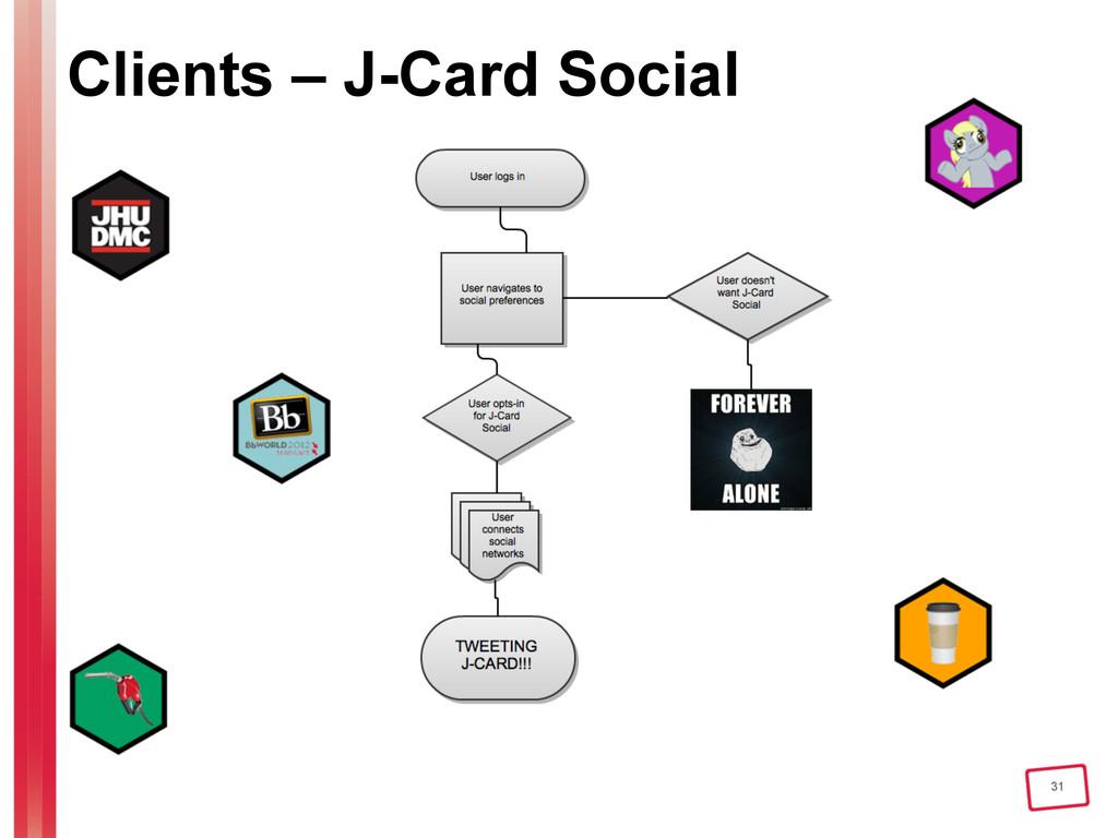 31 Clients – J-Card Social