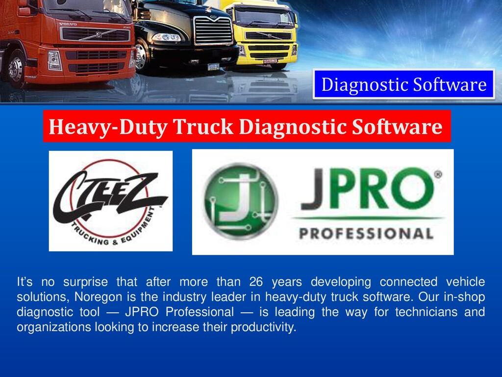 Diagnostic Software Heavy-Duty Truck Diagnostic...