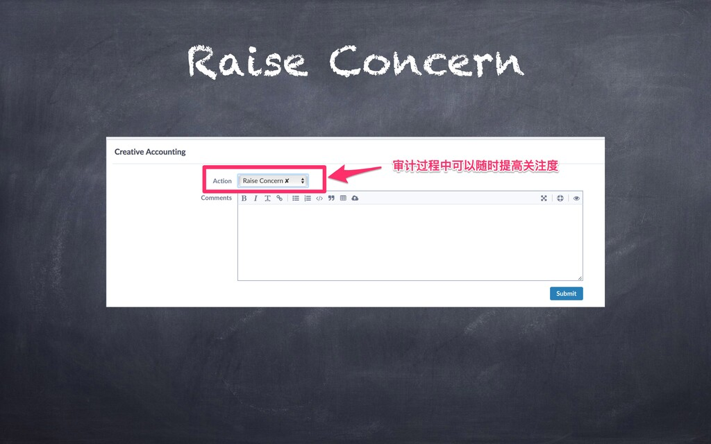 Raise Concern