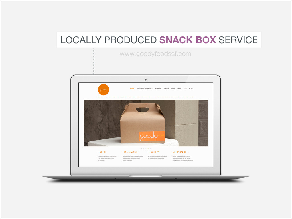 LOCALLY PRODUCED SNACK BOX SERVICE www.goodyfoo...