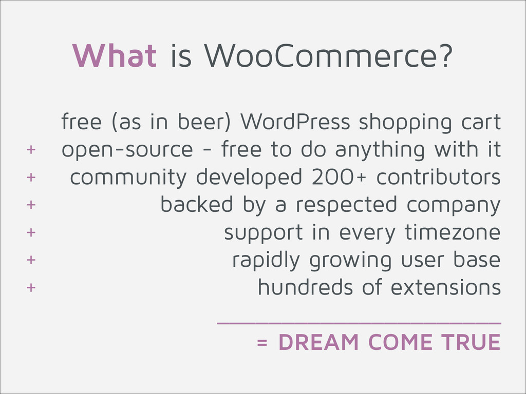 free (as in beer) WordPress shopping cart + ope...