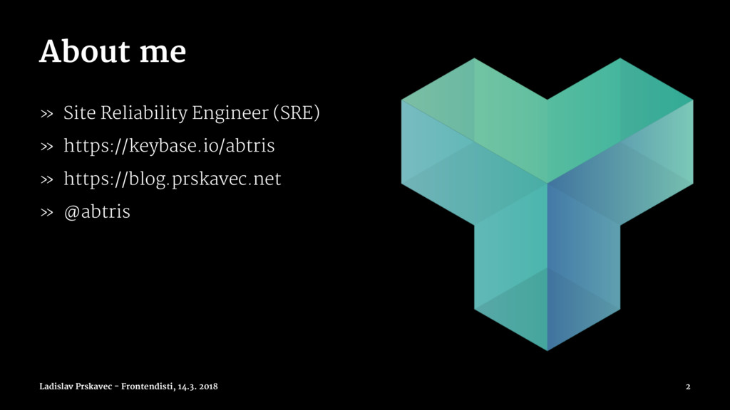 About me » Site Reliability Engineer (SRE) » ht...