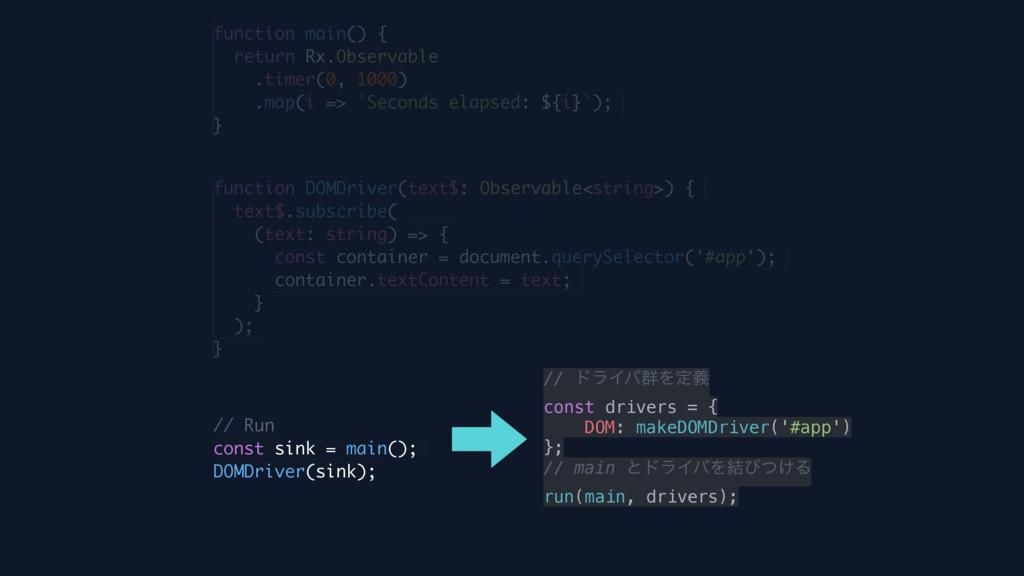 function main() { return Rx.Observable .timer(0...