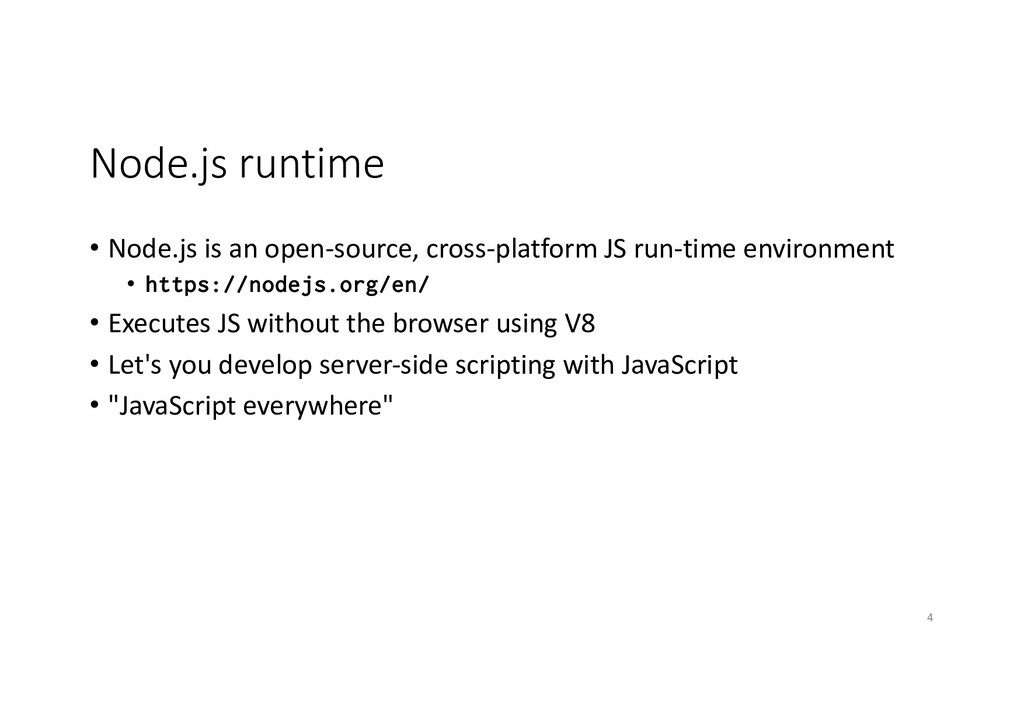 Node.js runtime • Node.js is an open-source, cr...