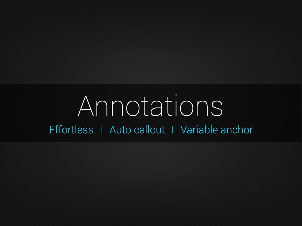 Effortless Annotations I Auto callout I Variabl...