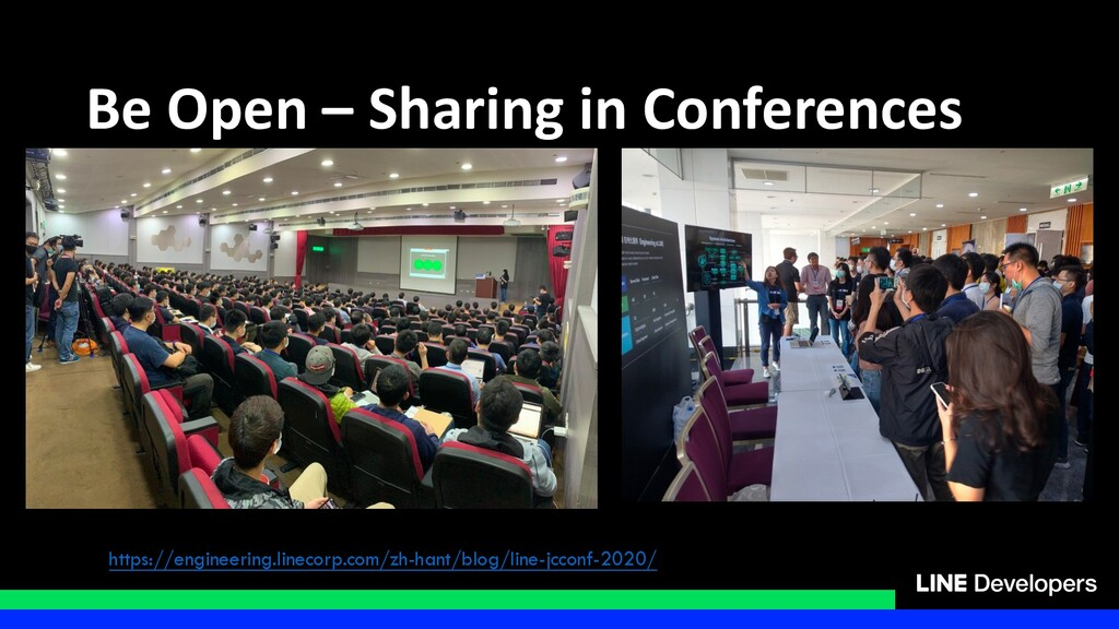 Be Open – Sharing in Conferences https://engine...