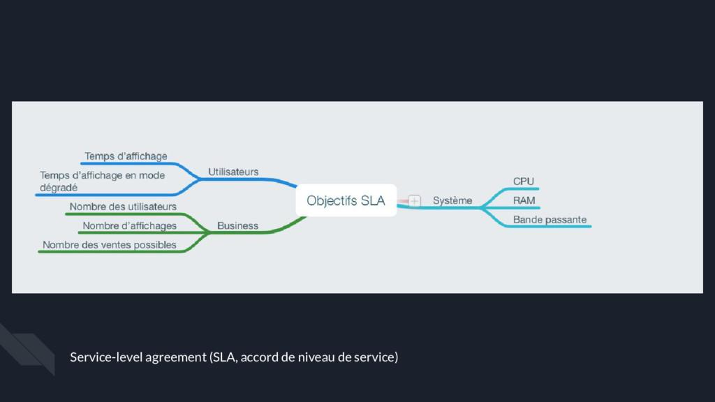 Service-level agreement (SLA, accord de niveau ...