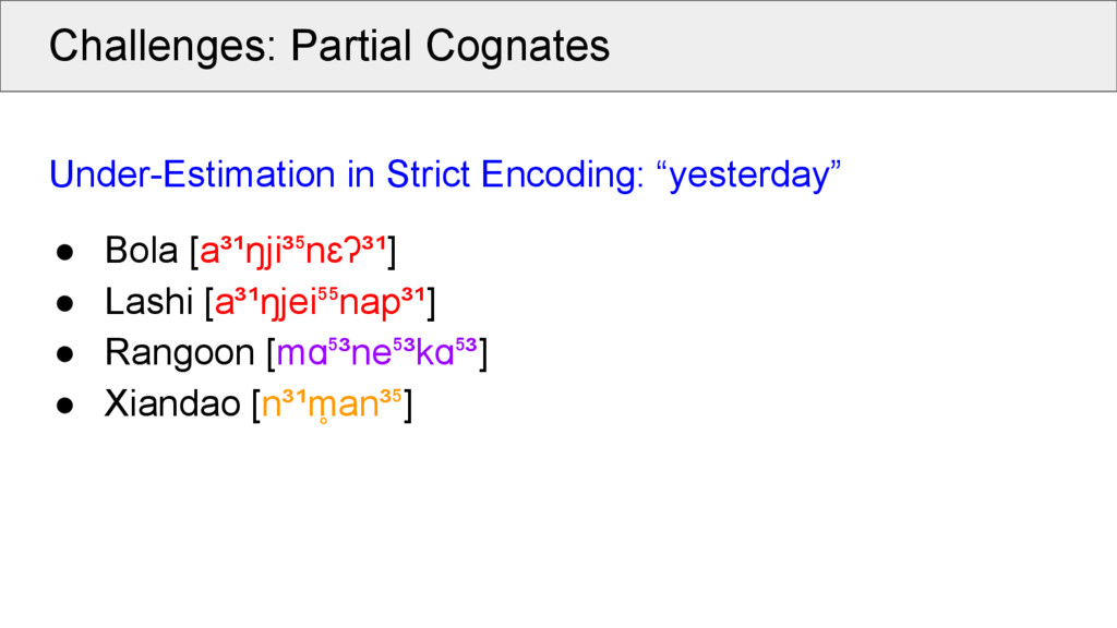 Challenges: Partial Cognates Under-Estimation i...