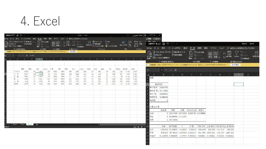 4. Excel