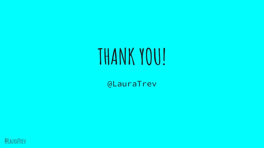 @LauraTrev THANK YOU! @LauraTrev