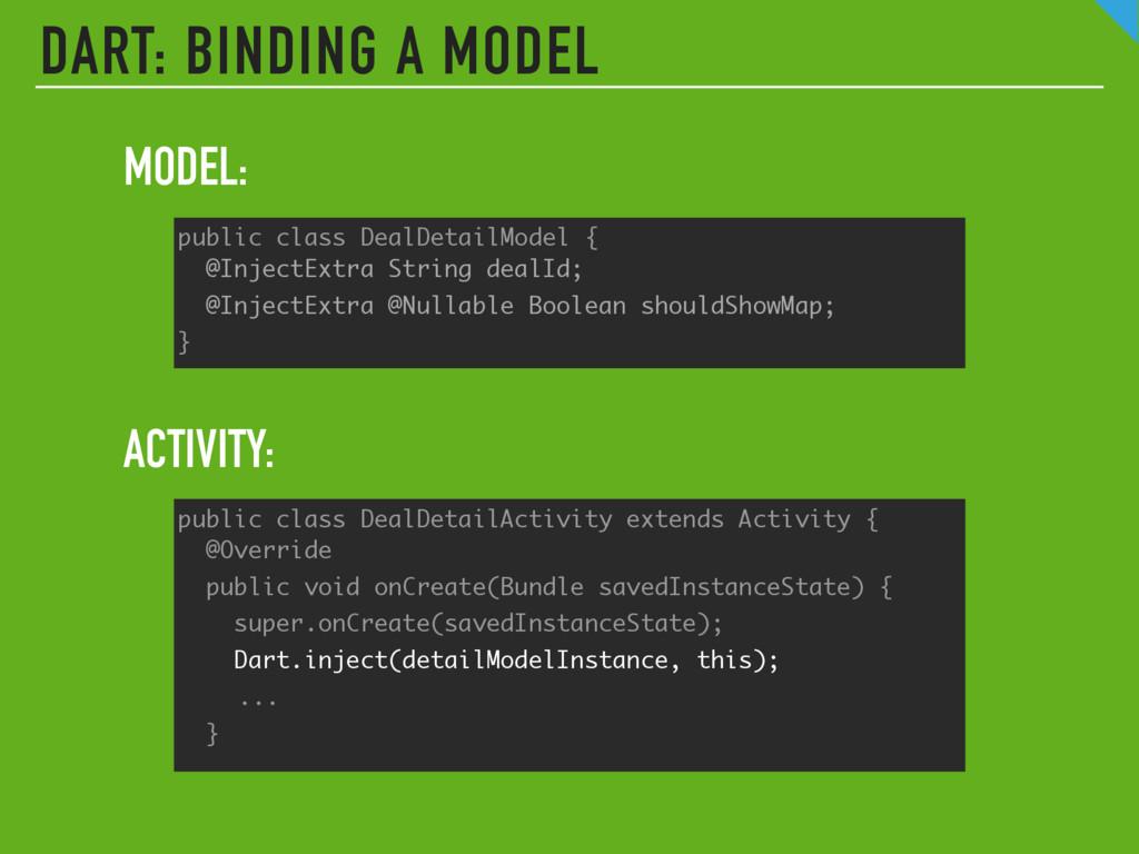 public class DealDetailModel { @InjectExtra St...