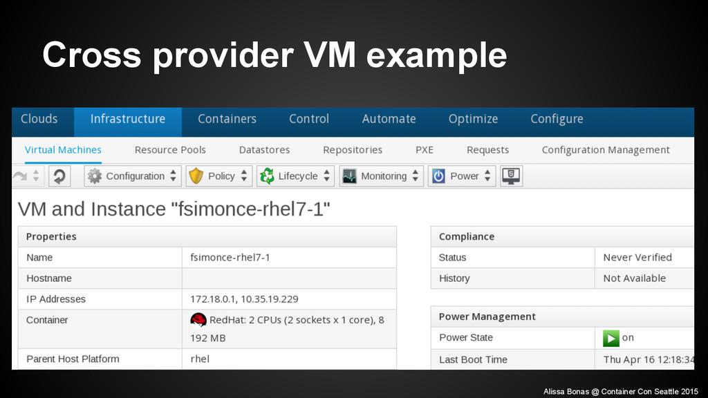 Cross provider VM example Alissa Bonas @ Contai...