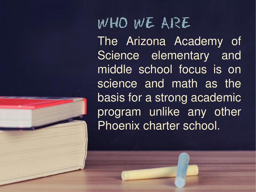 The Arizona Academy of Science elementary and m...