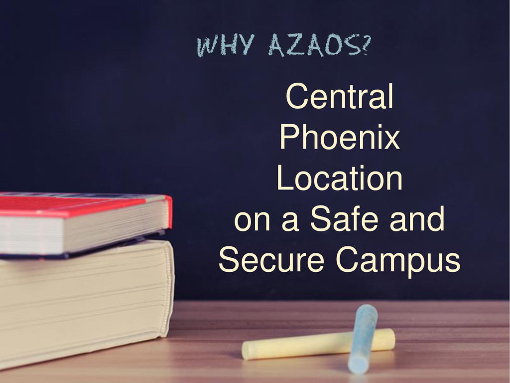 Central Phoenix Location on a Safe and Secure C...
