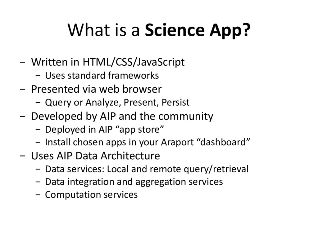 What is a Science App? - Written in HTML/CSS/Ja...