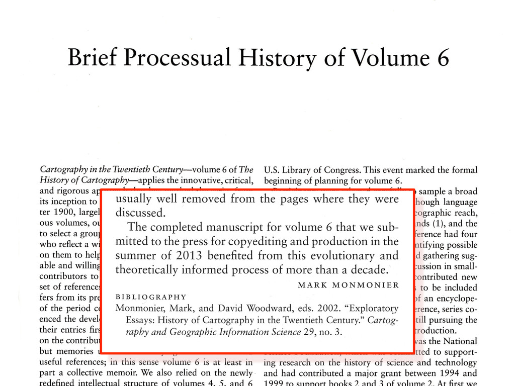 Image of the Processual History ...