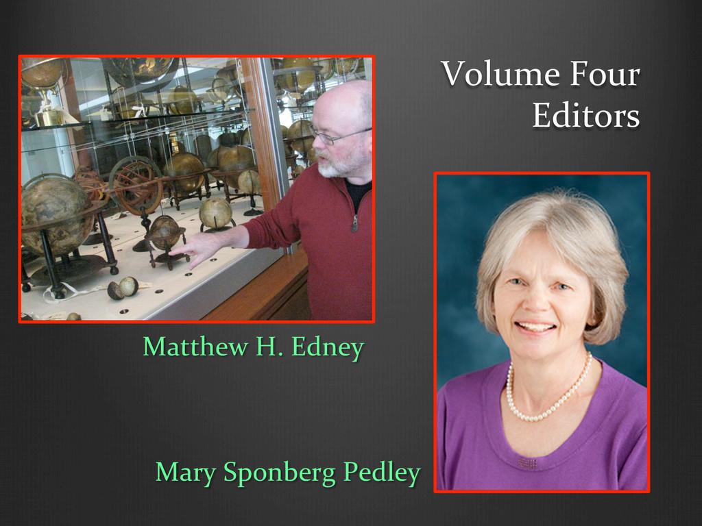 Volume Four  Editors  Matthew H. ...