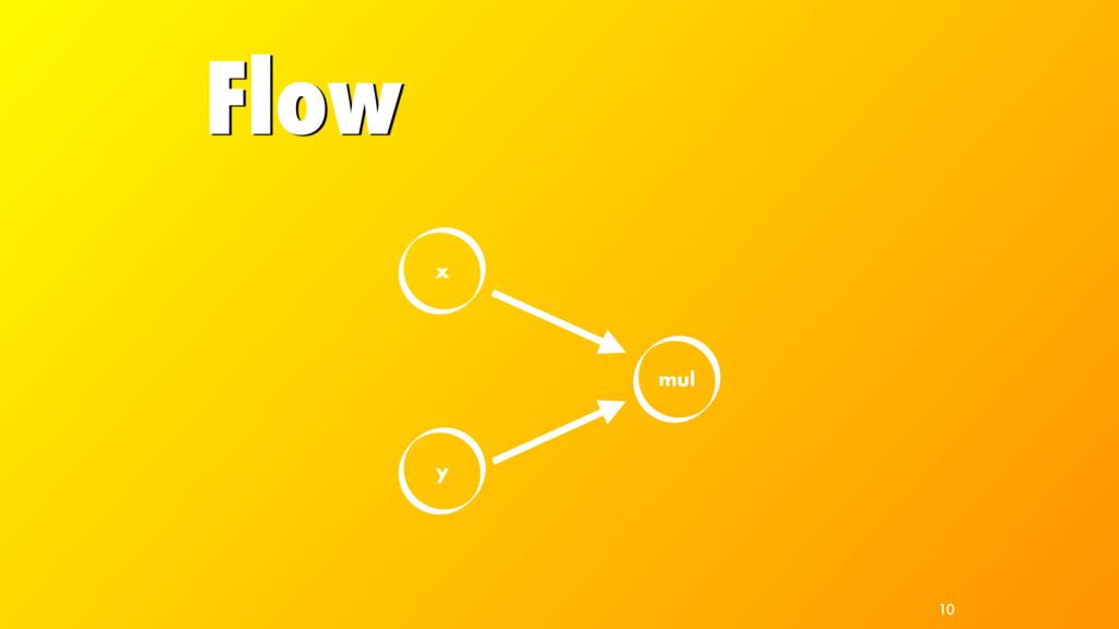 Flow x y mul 10