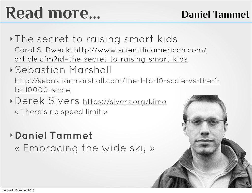 Read more... ‣ The secret to raising smart kids...