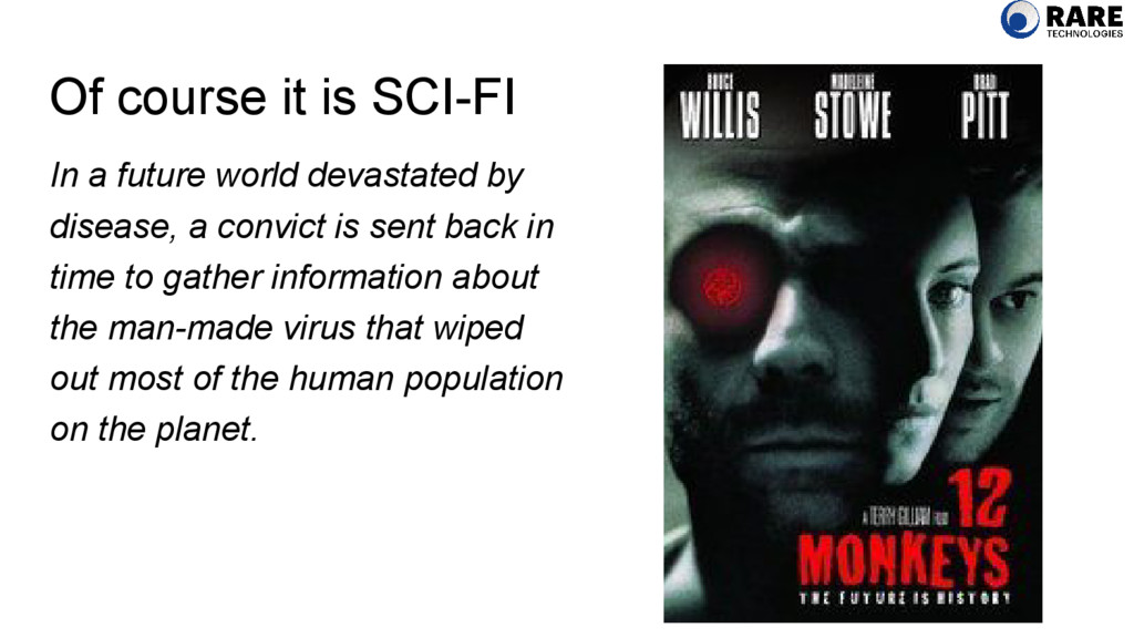 Of course it is SCI-FI In a future world devast...