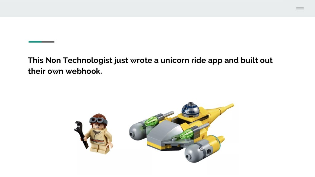 This Non Technologist just wrote a unicorn ride...