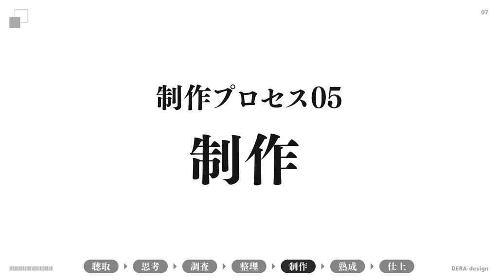 DERA-design 07 ௌऔ ௐࠪ ཧ ੍࡞ ख़ ্ ࢥߟ ੍࡞ ੍࡞ϓϩηε